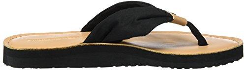 Tommy Hilfiger M1285onica 14d3, Sandalias de Punta Descubierta para Mujer Negro (Black 990)