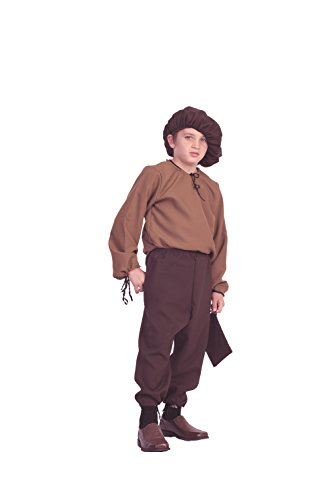 Child Renaissance Peasant Boy Costume (Renaissance Peasant Costume Child Large(12-14))