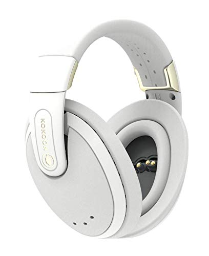 Kokoon Noise Cancelling Headphones with Bluetooth App for Sleep Aid Techniques and Relaxing Audio, Wireless Over Ear Headphones with Flexmould Comfort Ear Pads for Sleep, Relax and Travel (Grey)