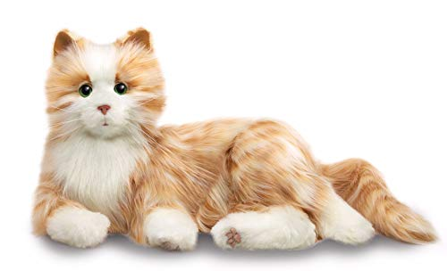 (Ageless Innovation | Joy For All Companion Pets | Orange Tabby Cat | Lifelike & Realistic)