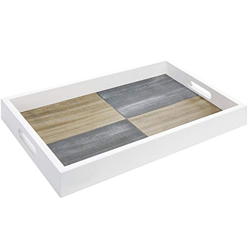 MyGift Rustic Gray and