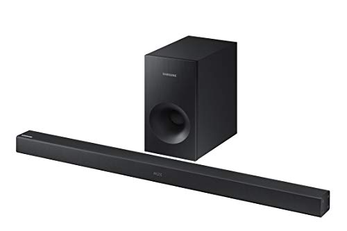 Samsung Electronics Surround Sound Bar Home Speaker Set of 2 Black (HW-K369/ZA)