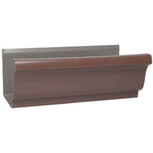 AMERIMAX HOME PRODUCTS 2400619120 5''x10' Brown Aluminum Gutter