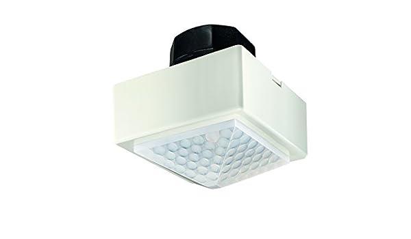 Theben 2020401 - Detector presencia 360 2 salidas independiente fluorescente blanco: Amazon.es: Bricolaje y herramientas