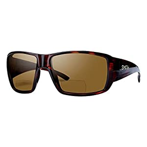Smith Guides Choice Bifocal Polarized Sunglasses - Men's Matte Havana/Brown 2.50, One Size