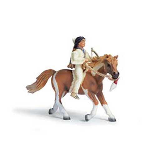 - Schleich Sioux Boy on Pony