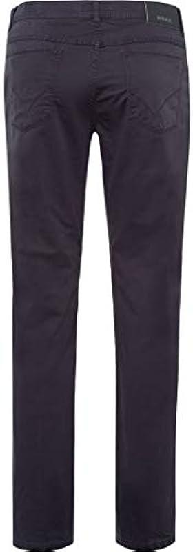 BRAX męskie spodnie Cooper Fancy Marathon płaska tkanina, street (wiosna 2020), 33W / 32L: Odzież