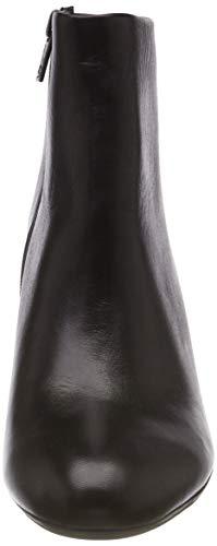 Negro Mujer Kaiser Kolda schwarz Plisadas Glove Peter Para Botas 153 Xv6npYp