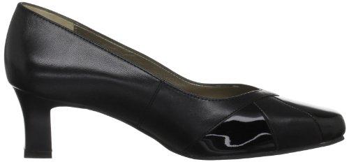 Padders Ctas Speciality - Zapatos de tacón de cuero mujer negro - negro