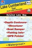 Lake Cumberland East Fishing Map (Kentucky Fishing Map Series, L443) by Fishing Hot Spots