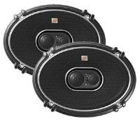 2) New JBL GTO938 6x9' 300W 3 Way Car Coaxial Audio Speakers Stereo GTO PAIR