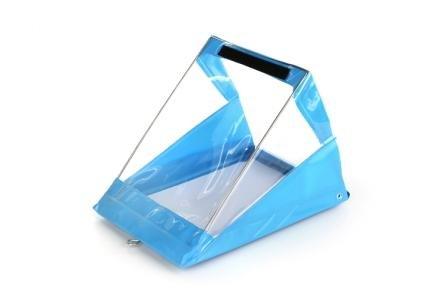 RainWriter A4 Portrait Waterproof Clipboard Blue Double Clip