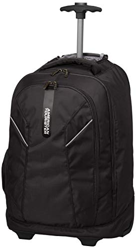 American Tourister Xeno 39L Laptop Trolley Backpack (Black)