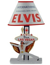 Elvis Presley Table Lamp - Viva Las Vegas: Amazon.co.uk: DIY & Tools