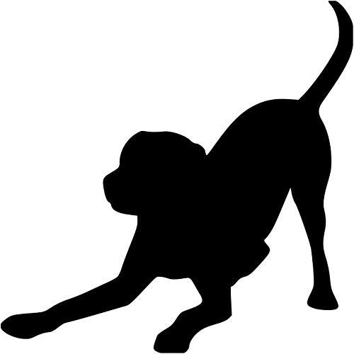 Minglewood Trading Black - Set of Two (2) Playful Labrador Retriever 3