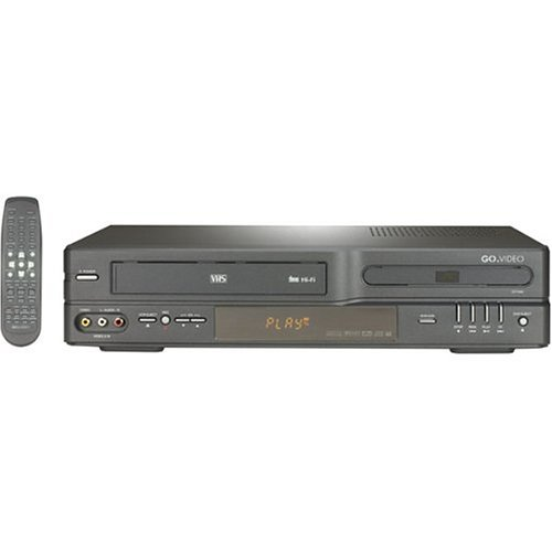 Go Video CineVision DV1040 Progressive-Scan DVD/VCR Combo