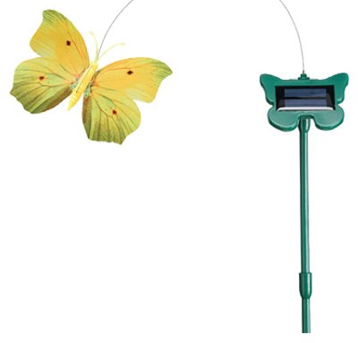 SMART SOLAR 4051RP19 Flutterby Butterfly Outdoor Yard Art