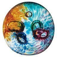 Caithness Glass Piece Crystal Aura Abstract Paperweight, Multi-Coloured by Caithness Glass