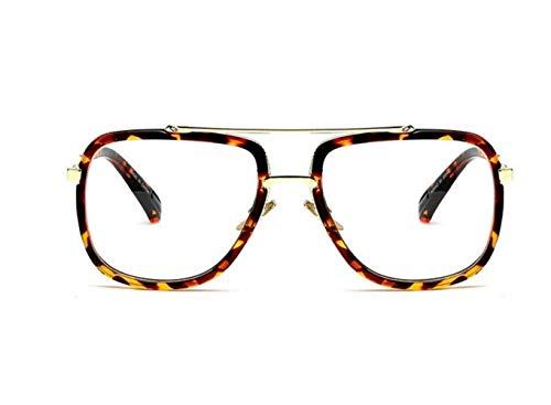 Gafas UV400 Hombres Mujeres sol protectoras para Gafas de conducir aire leopardo libre Moda de al de FlowerKui sol Leopard Azgqw