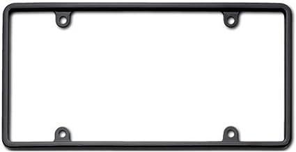 Nice Cruiser Accessories 21350 Slim Rim License Plate Frame, Black