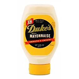 Duke\'s Real Mayonnaise Squeeze 18oz