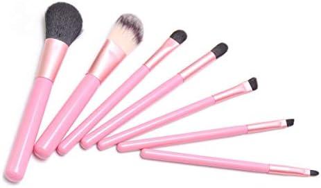 Traje de 7 piezas Cepillo de rubor Caja de hierro Maquillaje ...