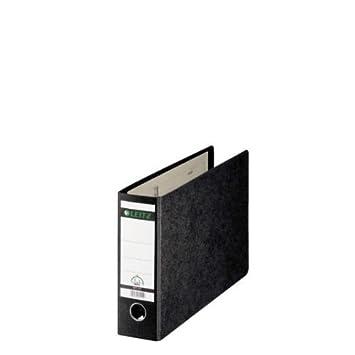 - Archivador de anillas (180 ° cartón duro - 80 mm, con orificio de agarre, para tamaño A4 horizontal: Amazon.es: Oficina y papelería