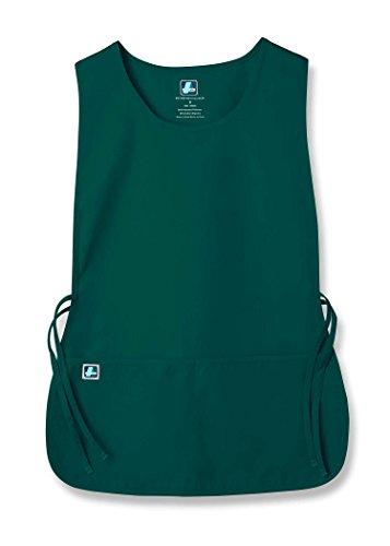 (Adar Unisex Cobbler Apron with 2 Pocket/Adjustable Ties - Hunter Green - X-Large)
