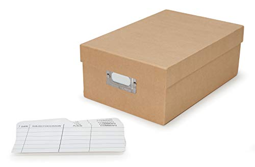 """Darice Tan Stor Store, Organize and Protect Photos, Notes, Craft Supplies and More - Sturdy Paper Can Be Decorated - Shoe Shaped Storage Box 7.5""""x11""""x4"""", 7.5 x 4 x 11 Inch"""