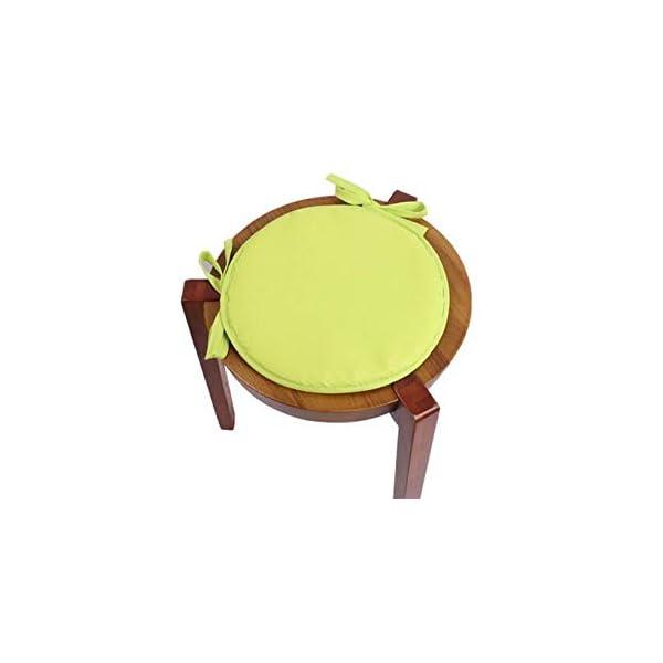 AGDLLYD Cuscino Sedia 38 * 38 * 1,8cm,Cuscini da Sedia Trapuntati,Morbido Cuscino per Sedia Cuscino Sedia Cucina da… 5 spesavip