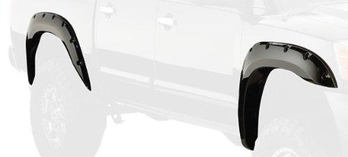- Bushwacker 70013-02 Nissan Pocket Style Fender Flare - Front Pair