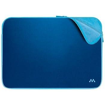 Merkury Innovations 16 Inch Neoprene Laptop Sleeve (Navy/Sky Blue)