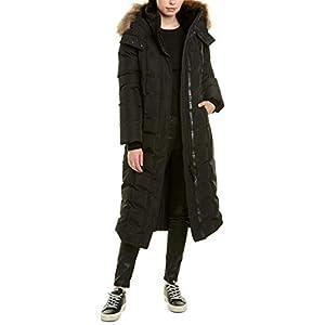Mackage Jada Leather-Trim Coat