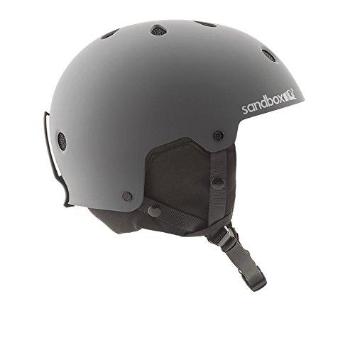 SANDBOX Legend Snow Helmet, Grey, Medium