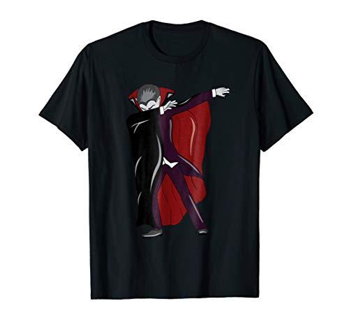 (Dabbing Vampire T-Shirt - Count Dracula Halloween)