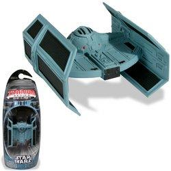 Tie Fighter Star Vintage Wars - TITANIUM SERIES STAR WARS 3INCH VEHICLES - DARTH VADERS TIE-FIGHTER
