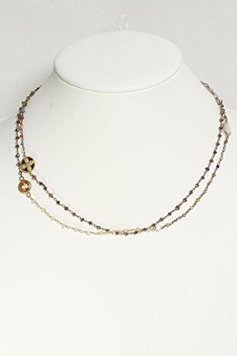 Citrine Gold Tourmaline Necklace - 8