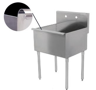 Universal BS2124-1 - One Compartment Sink - 24