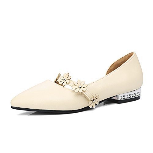 Mujer Sandalias Con Beige 1to9 Cuña xqWBwYHnat