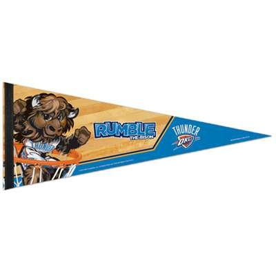 Oklahoma City Thunder Premium Pennant - 12'' x 30'' by WinCraft