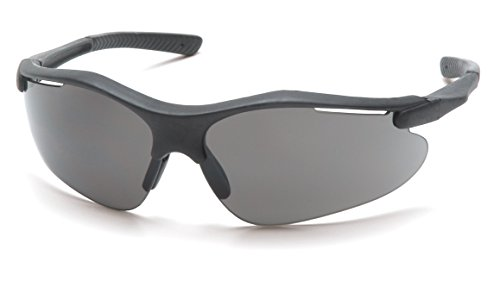 - Pyramex Fortress Safety Eyewear, Gray Lens With Black Frame