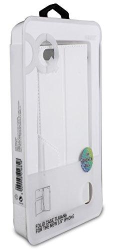 Xqisit Tijuana Etui folio pour iPhone Air–Blanc