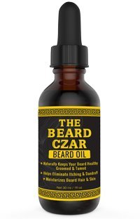 The Beard Czar- Beard Oil- Naturally Keeps Your Beard Healthy, Groomed, and Tamed- Helps Eliminate Itching and Dandruff- Moisturizes Beard Hair and Skin- Argan Oil- Nourish Your Beard!