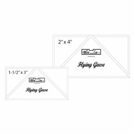 Bloc Loc Flying Geese Ruler Set 2~1.5