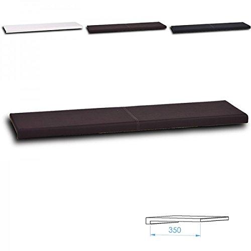 Wandkissen L - Breite: 115cm verschiedene Farben, Farbe:braun