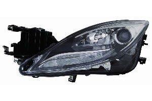 6 Headlight Assembly (Depo 316-1146R-US2 Headlight Assembly (MAZDA 6 11-13 UNIT HALOGEN PASSENGER SIDE))