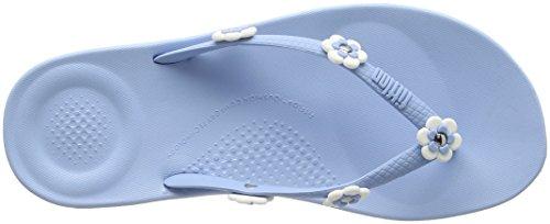 Bleu Poudre 575 Fleur Flops bleu Femmes Chiquenaude Fitflop stud Ergonomique Iqushion 6znqx40Hw