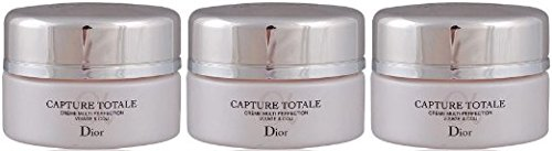 Dior Capture Totale Multi Perfection Cream Creme Visage & COU 15ml x 3 (Dior Capture Totale Creme)