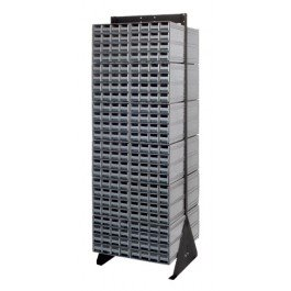 - Quantum Storage Systems, Single Sided, Ssis-6, Cabinet Per Floor Stand: (8) 12 Drawers, No. Of Drawers: 96, Ship Weight: 100, Height: 48, Color: Blue, Qic-148-122