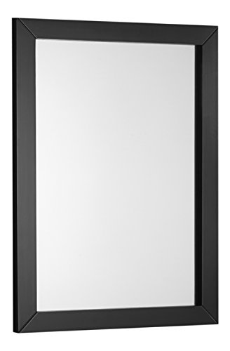 Espresso Finish Mirror (Simpli Home Burnaby Bath Vanity Mirror, Espresso)